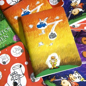 First series of handbound notebooks and storybooks from Edicions Cotton Flower for the Kruch